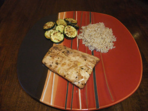 Food Calendar Day 2 – Marinated Mahi Mahi