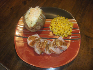 Food Calendar Day 5 – Mustard-Maple Pork Tenderloin