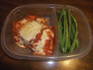 FC Day 6 – Baked Eggplant Parmesan