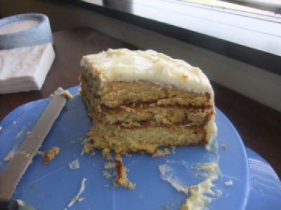 What's Baking: Triple Layer Lemon Cake