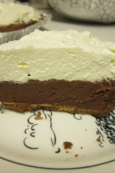 What's Baking: Chocolate Cream Pie