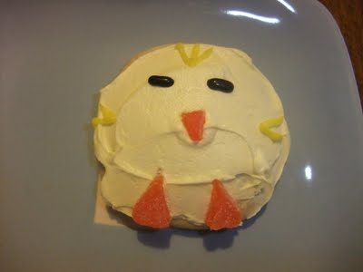 Little Chick Sugar Cookies