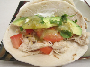 Taco Tuesday: Lime Chicken Soft Tacos