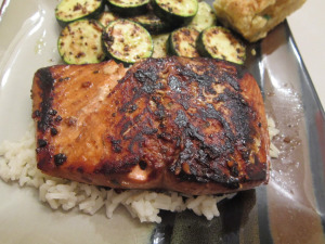 Asian-Marinated Salmon