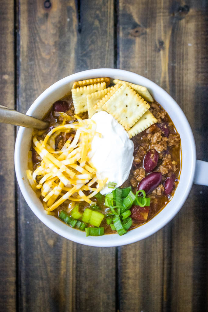 classic chili with beans