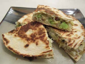 Crab & Avocado Quesadilla