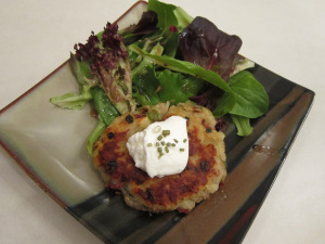 Boxty Potato Cake Salad