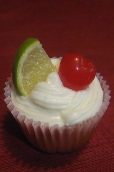 What's Baking – Cherry Limeade Cupcakes