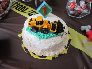 Construction Smash Cake