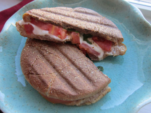 Sammich Saturday: Balsamic Caprese Panini
