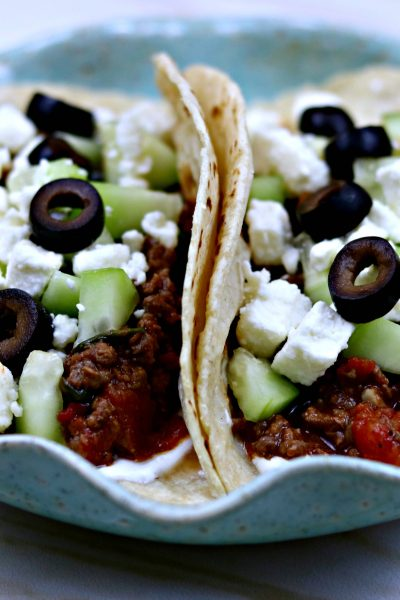 Taco Tuesday: Greek Beef Tacos