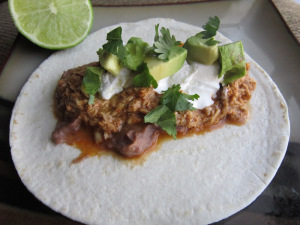 Taco Tuesday: Crockpot Cheddar Beer Chicken Tacos