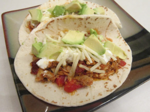 Taco Tuesday: Tinga Poblana Chicken Tacos