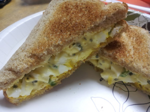 Sammich Saturday: Jalapeno Egg Salad