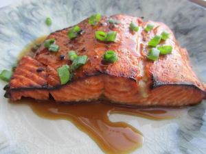 Sesame-Ginger Salmon