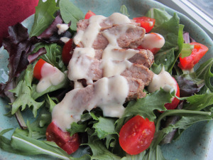 Bistro Steak Salad with Creamy Peppercorn Dressing