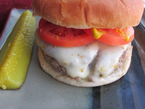 Spicy Pepper Jack Burger