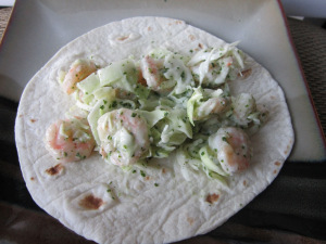 Taco Tuesday: Shrimp & Cabbage Tacos with Cilantro Yogurt Sauce