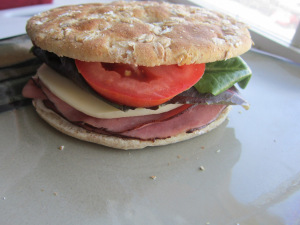 Sammich Saturday: Roast Beef & Provolone with Horseradish Mayo