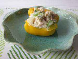 Chicken Salad Stuffed Pepper