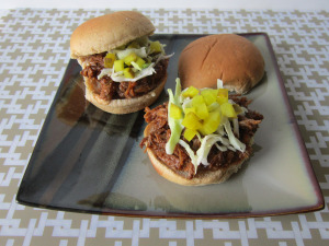 Sammich Saturday: Balsamic Honey Pulled Pork Sliders