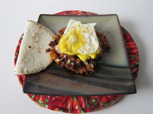 Spicy Chorizo Breakfast Hash