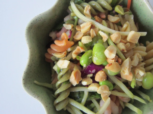 Ginger-Peanut Pasta Salad
