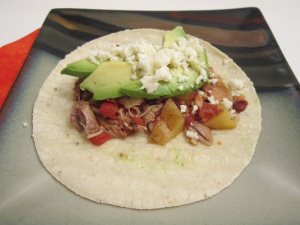 Taco Tuesday: Smoky Pork Tinga Tacos