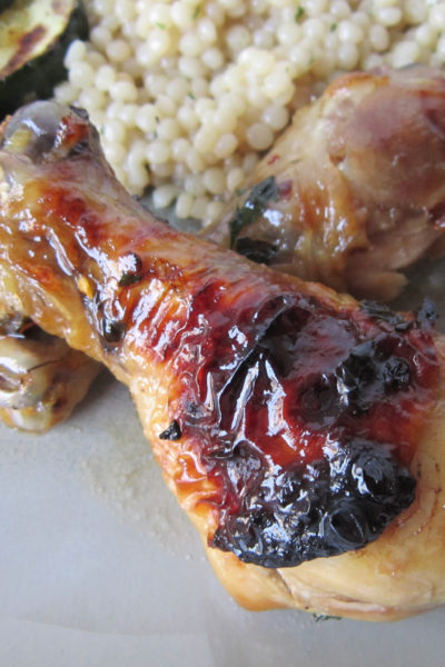 Baked Honey Garlic Chicken Drumsticks
