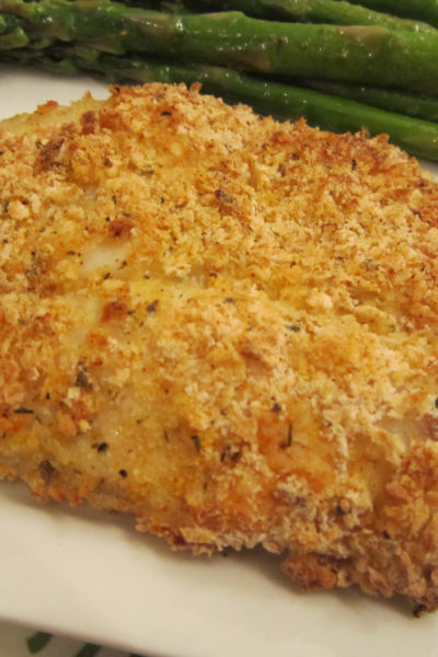 Panko and Italian Herb Crusted Tilapia