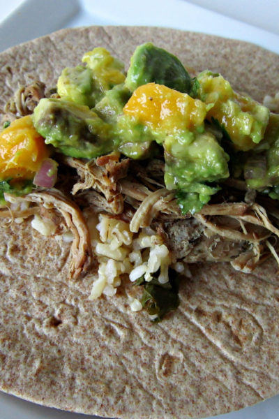 Taco Tuesday: Shredded Jerk Pork Tacos with Caribbean Salsa
