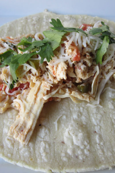 Shredded Chicken with Chiles