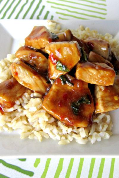 Spicy Basil Pork