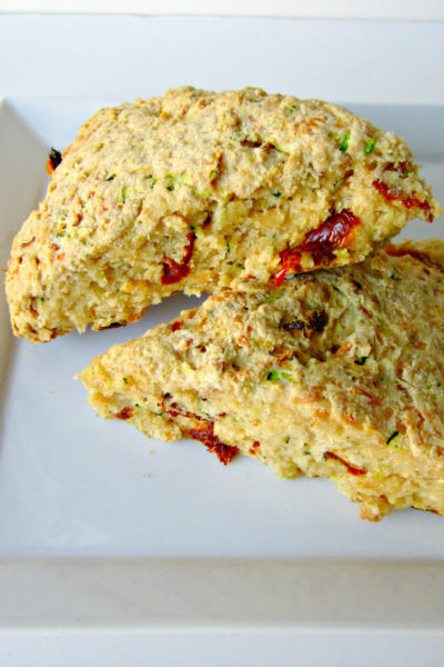 What's Baking: Zucchini, Asiago, Sun Dried Tomato Scones