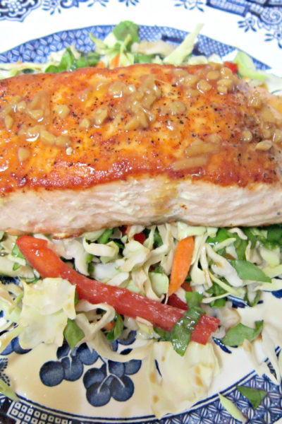 Salmon with Citrus-Soy Glaze