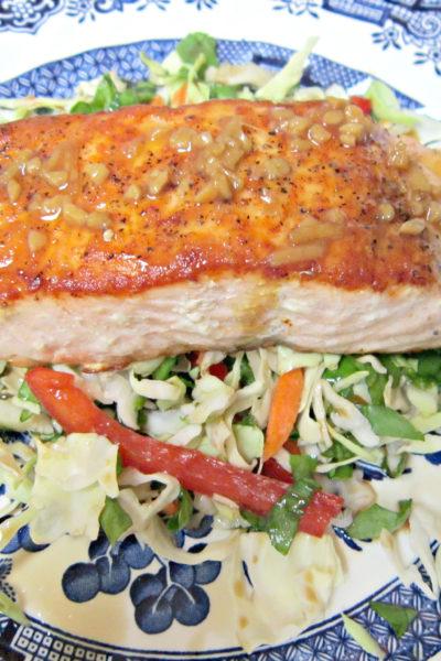 Salmon with Citrus-Soy Glaze