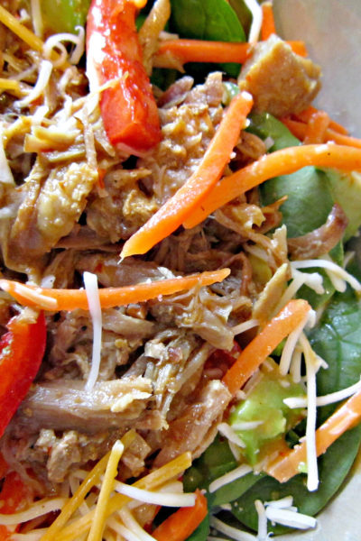 Carnitas Salad with Citrus Chipotle Dressing