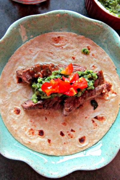 Taco Tuesday: Grilled Citrus Steak Tacos with Cilantro Chimichurri Sauce