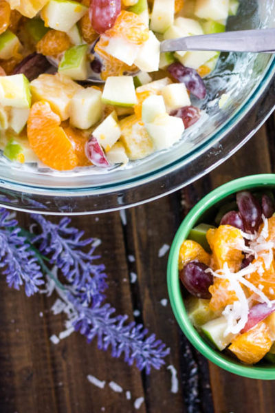 Healthy Hawaiian Fruit Salad (so easy to make!)