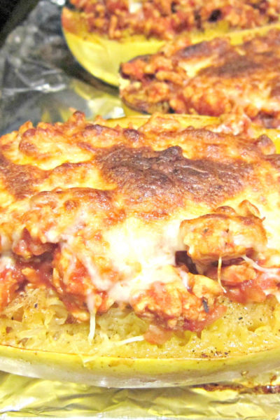 Spaghetti Squash Lasagna Bowls
