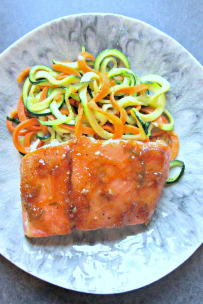 Triple Citrus Glazed Salmon