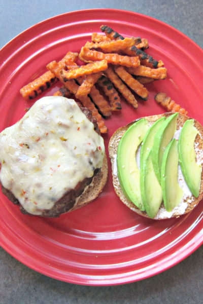 Sammich Saturday: Green Onion & Bacon Burger