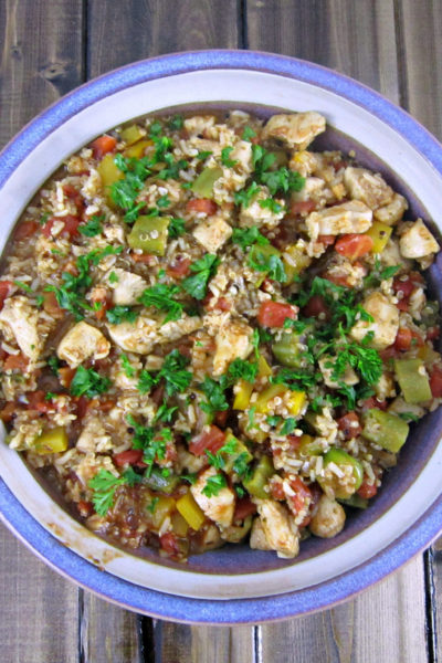 Cajun Chicken and Quinoa Skillet
