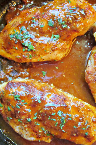 Honey Dijon Chicken Skillet
