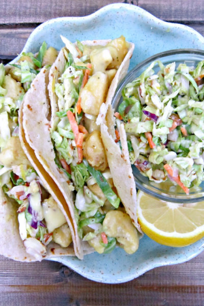 Taco Tuesday: Crock-pot Honey Mustard Chicken Tacos
