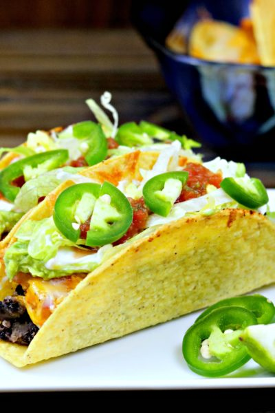 Taco Tuesday: Spicy Oven Baked Chicken Tacos