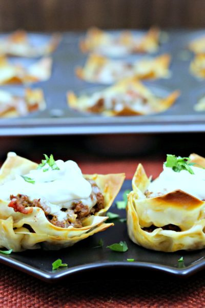 Muffin Tin Taco Cups