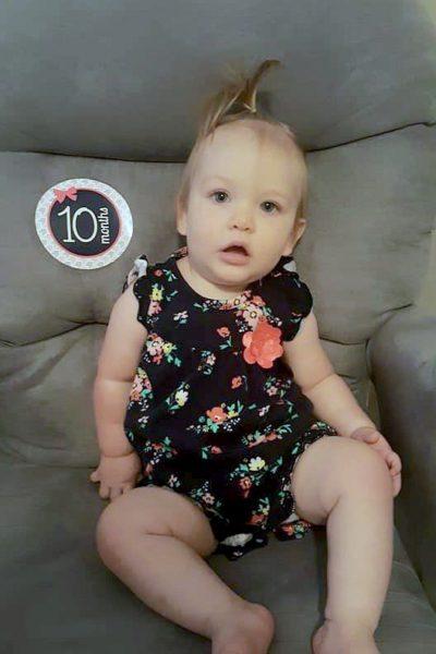 Natalie Grace: 10 months!
