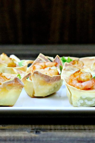 Chili Lime Shrimp Cups
