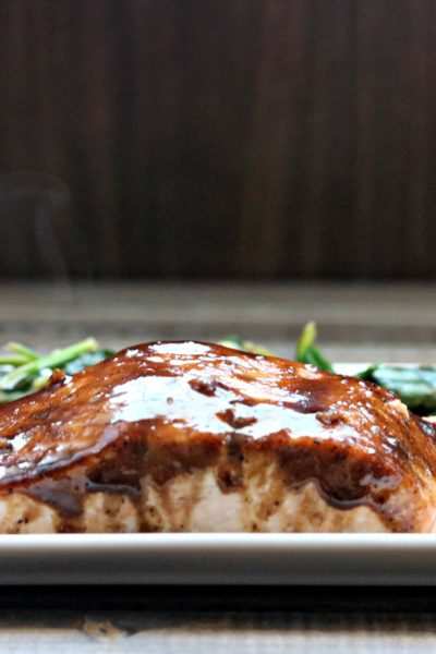 Balsamic Honey Dijon Salmon